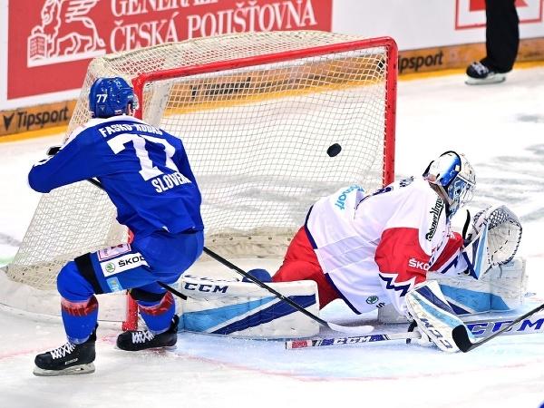 Martin Faško-Rudáš strieľa gól