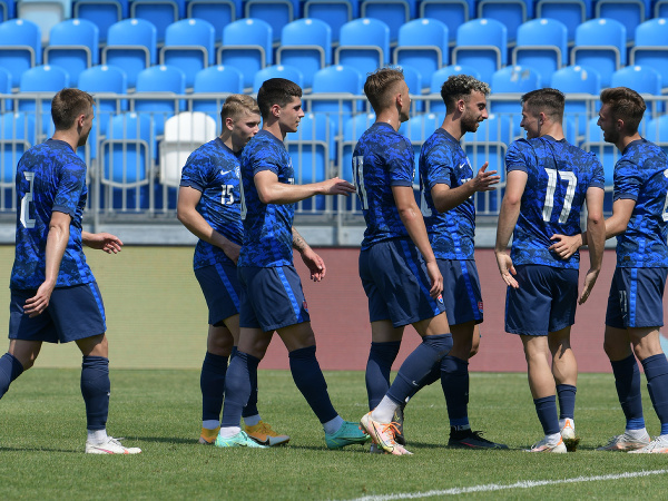 Radosť slovenských futbalových reprezentantov do 21 rokov