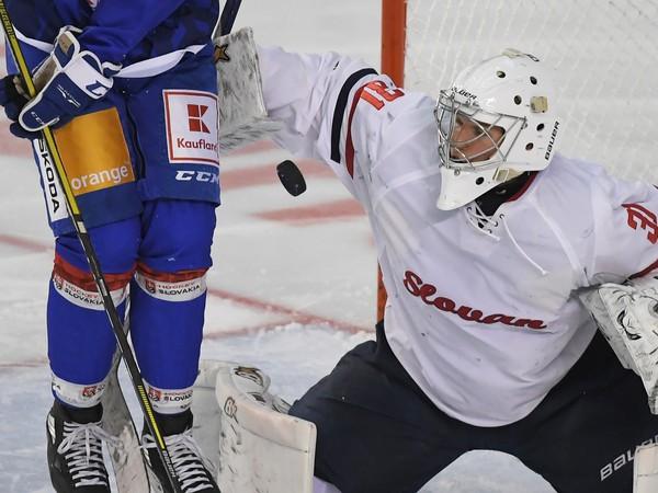 Brankár HC Slovan Bratislava Richard Noskovič