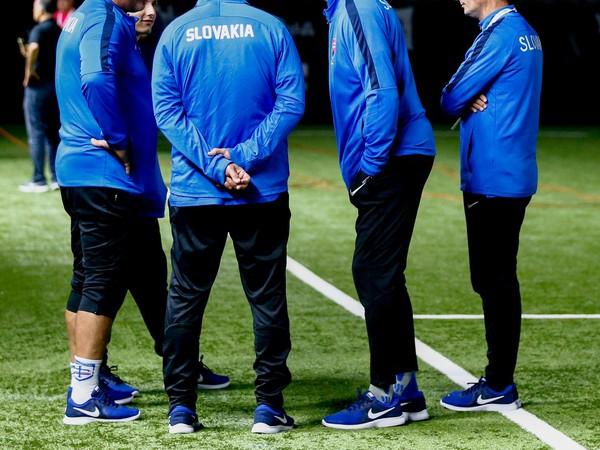 Ladislav Borbély a slovenský trénerský tím