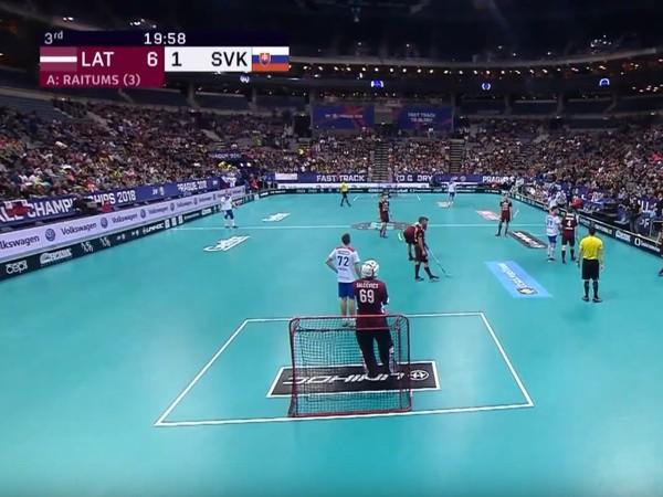 Slovensko prehralo v play-off s Lotyšskom