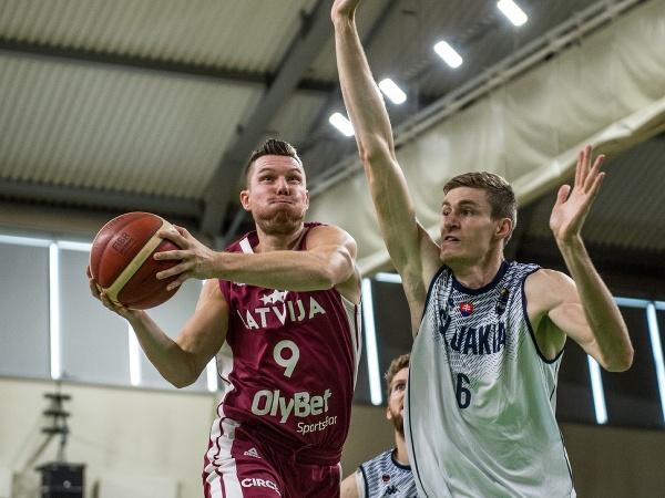 Slovensko prehralo s Lotyšskom v príprave