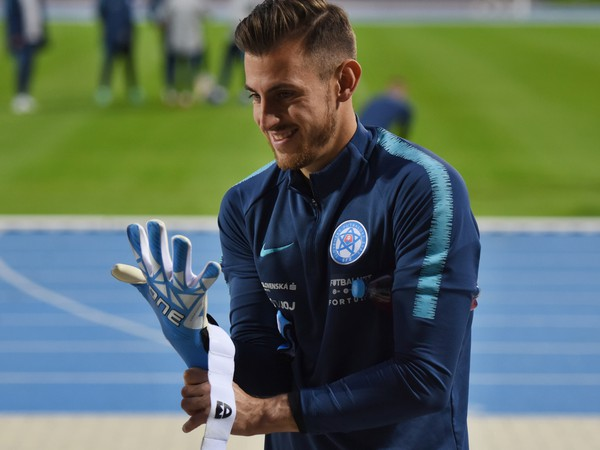 Martin Dúbravka na tréningu