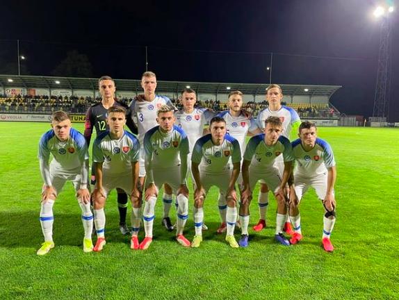 Gólové oslavy slovenských mladíkov