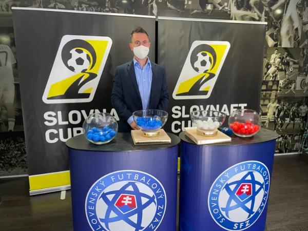 Finančný riaditeľ Slovnaftu Plamen Michev pred žrebom 4. kola Slovnaft Cupu