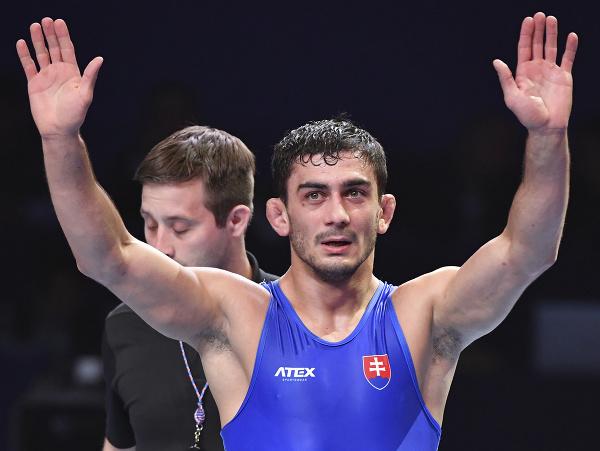 Slovenský zápasník Tajmuraz Salkazanov