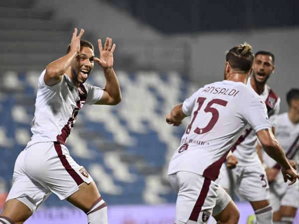 Marco Pjaca a gólové oslavy futbalistov FC Turín
