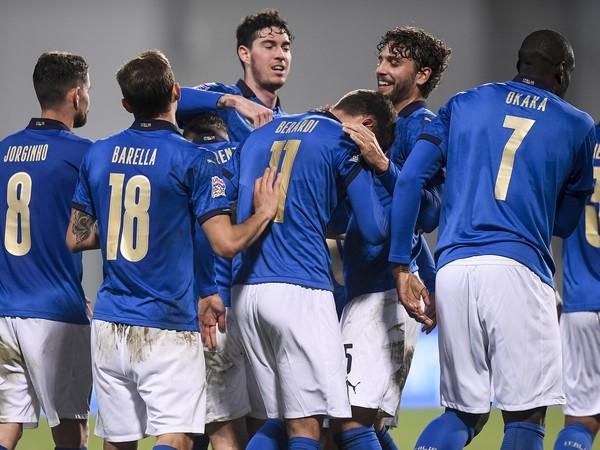 Taliani sa radujú z gólu