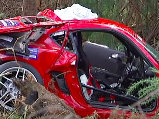 Targa Tasmania rally poznačili obrovské tragédie