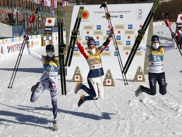 Nórska bežkyňa na lyžiach Therese Johaugová triumfovala suverénnym spôsobom