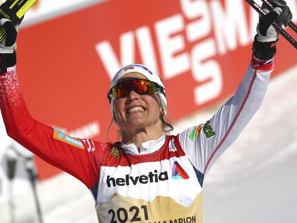 Nórska bežkyňa na lyžiach Therese Johaugová