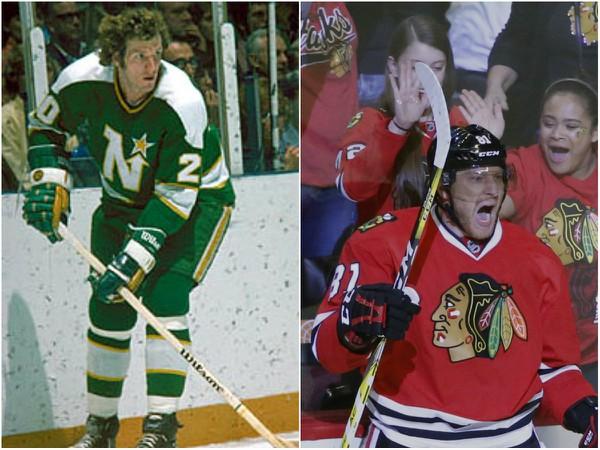 Bývalý hokejista NHL Tom Reid & Marián Hosssa