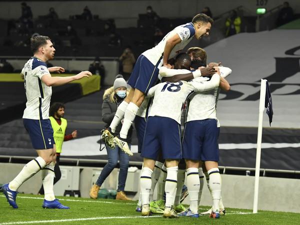 Radosť hráčov Tottenhamu