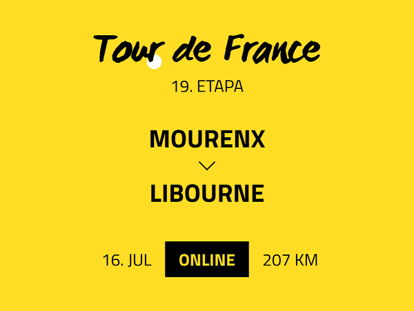19. etapa Tour de France