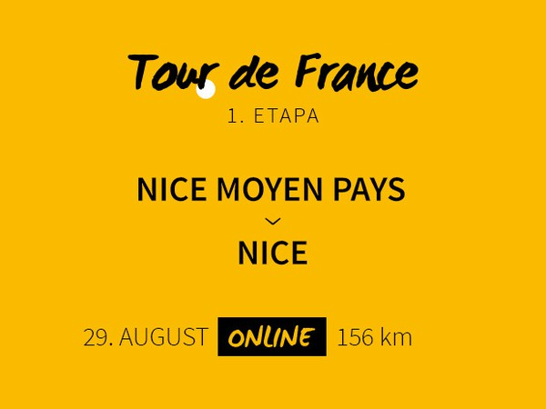 Tour de France 2020: 1. etapa