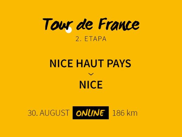 Tour de France 2020: 2. etapa