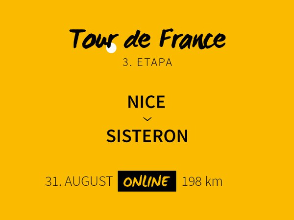 Tour de France 2020: 3. etapa