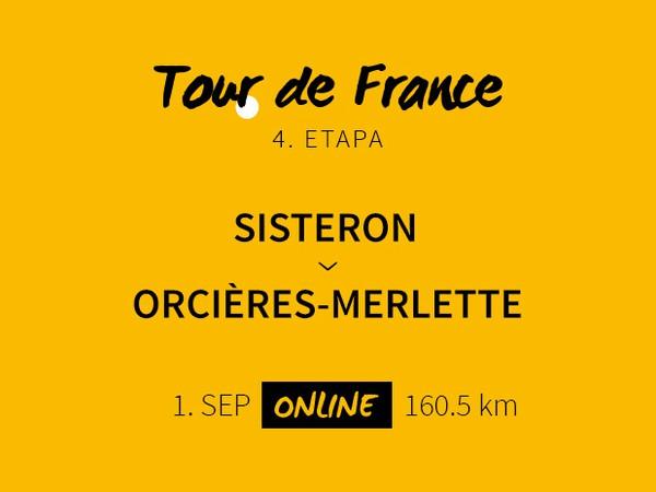 Tour de France 2020: 4. etapa