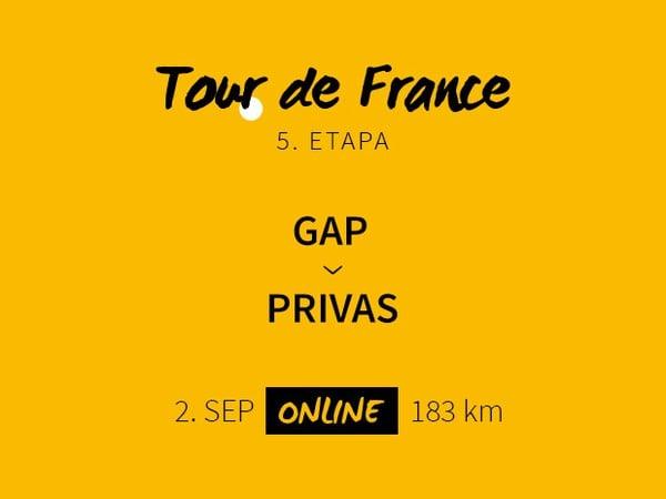 Tour de France 2020: 5. etapa