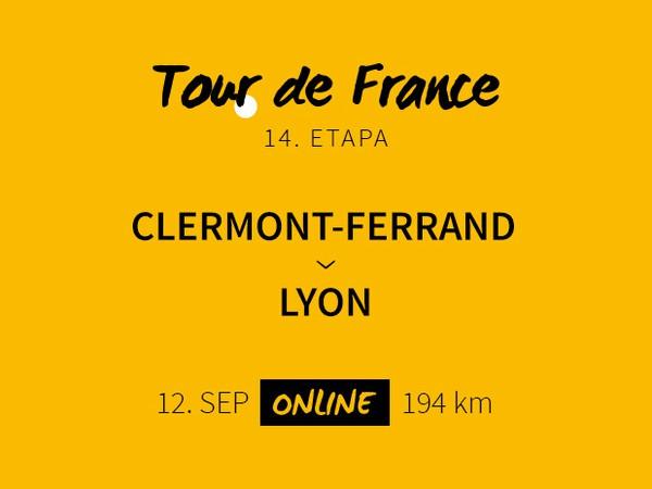 Tour de France 2020: 14. etapa