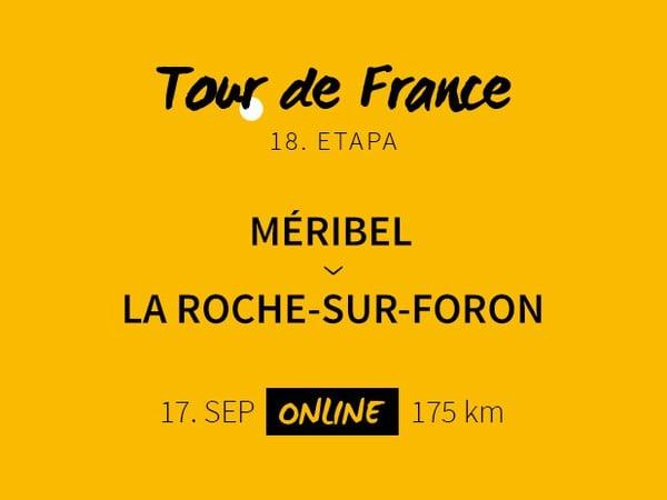 Tour de France 2020: 18. etapa