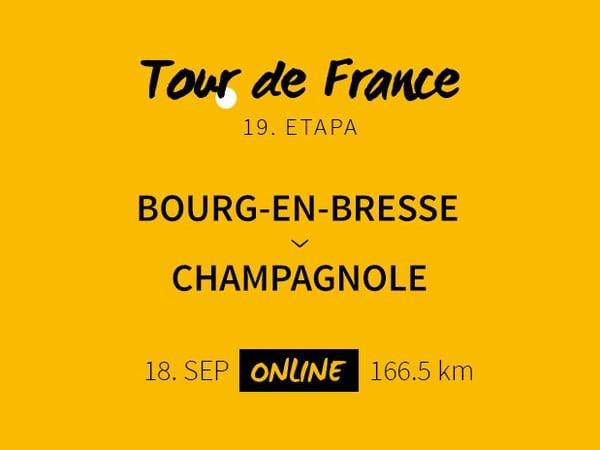 Tour de France 2020: 19. etapa