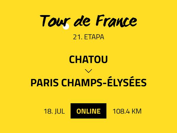 21. etapa Tour de France