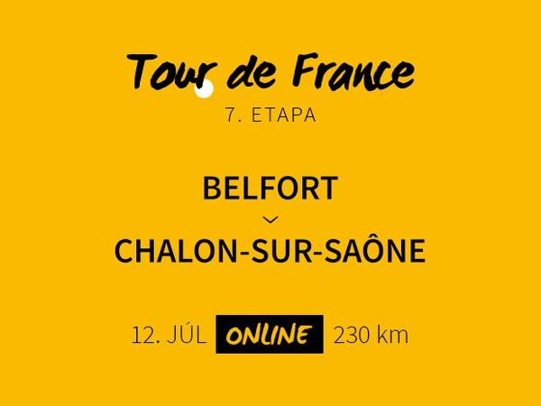 Tour de France - 7. etapa