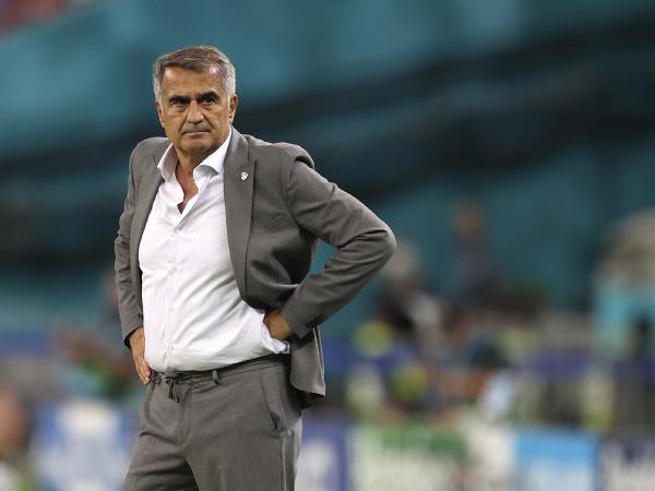 Tréner tureckej futbalovej reprezentácie Senol Günes