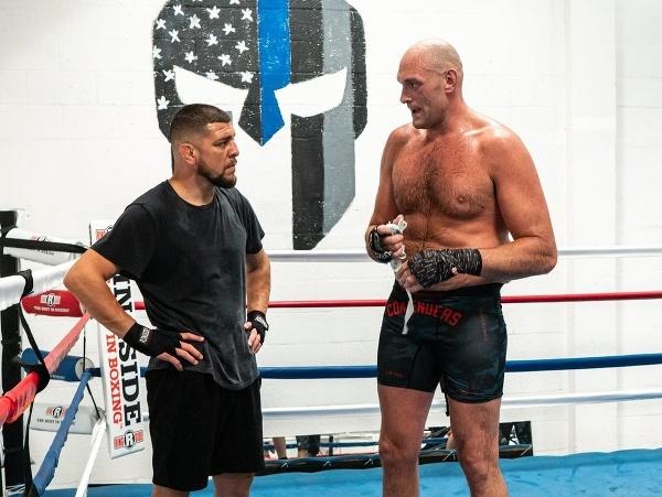 Nick Diaz a Tyson Fury