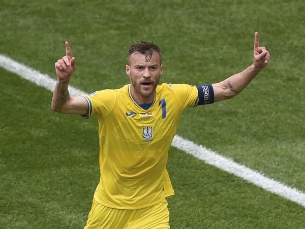 Ukrajinský futbalista Andrij Jarmolenko