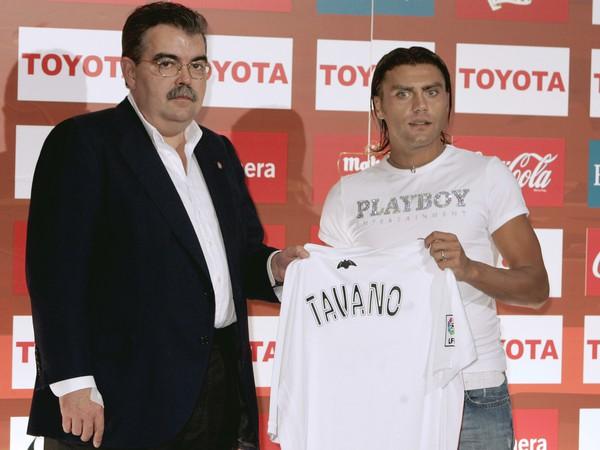 Juan Soler (vľavo) počas šéfovania vo Valencii