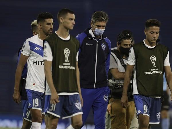 Hráči argentínskeho klubu Velez Sarsfield