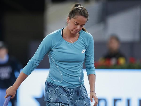 Na snímke slovenská tenistka Viktória Kužmová