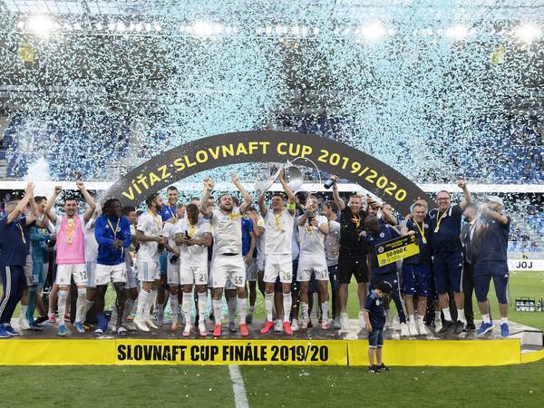 Futbalisti ŠK Slovan Bratislava