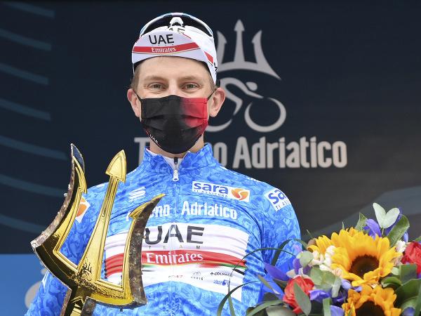 Tadej Pogačar ovládol Tirreno-Adriatico