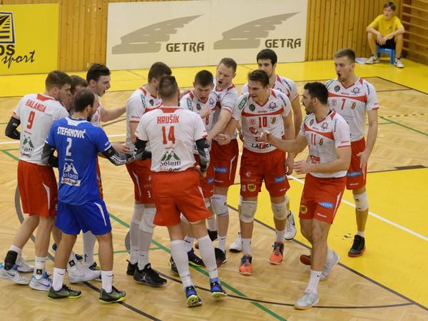 Na snímke hráči VK Spartak UJS Komárno