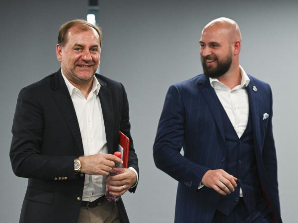Vladimír Weiss a Ivan Kmotrík ml.