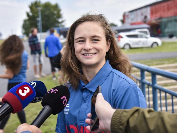 Na snímke slovenská vodná slalomárka Zuzana Paňková