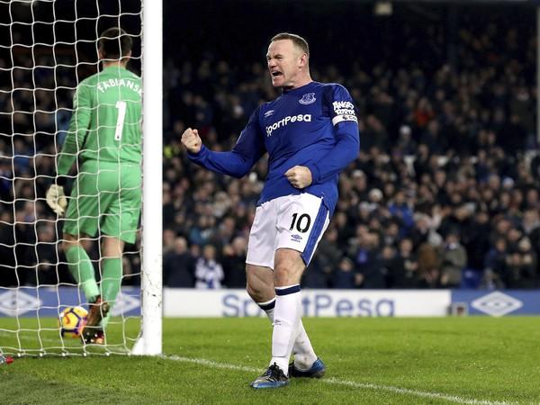 Wayne Rooney a jeho gólové oslavy