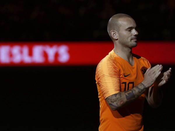 Bývalý holandský futbalový reprezentant Wesley Sneijder