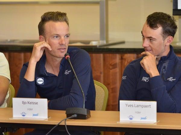 Pretekári Iljo Keisse a Yves Lampaer