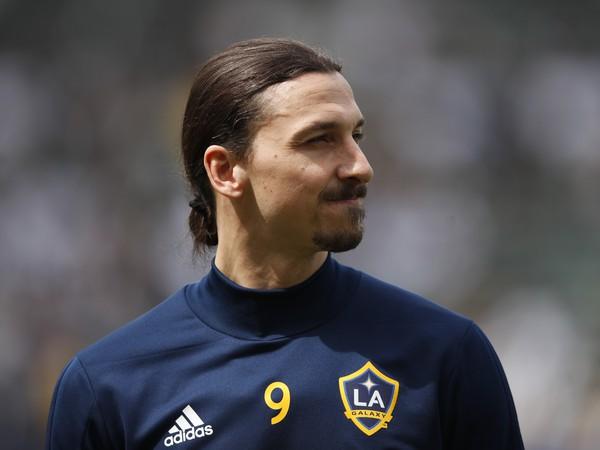 Zlatan Ibrahimovič vo farbách LA Galaxy
