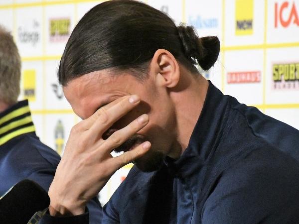 Zlatan Ibrahimovič sa neubránil slzám