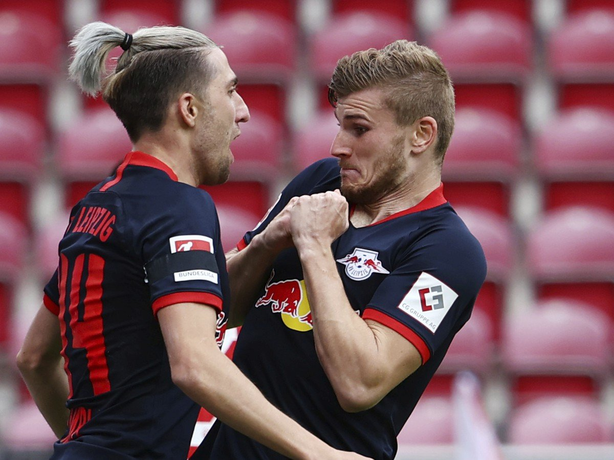 Timo Werner a Kevin Kampl