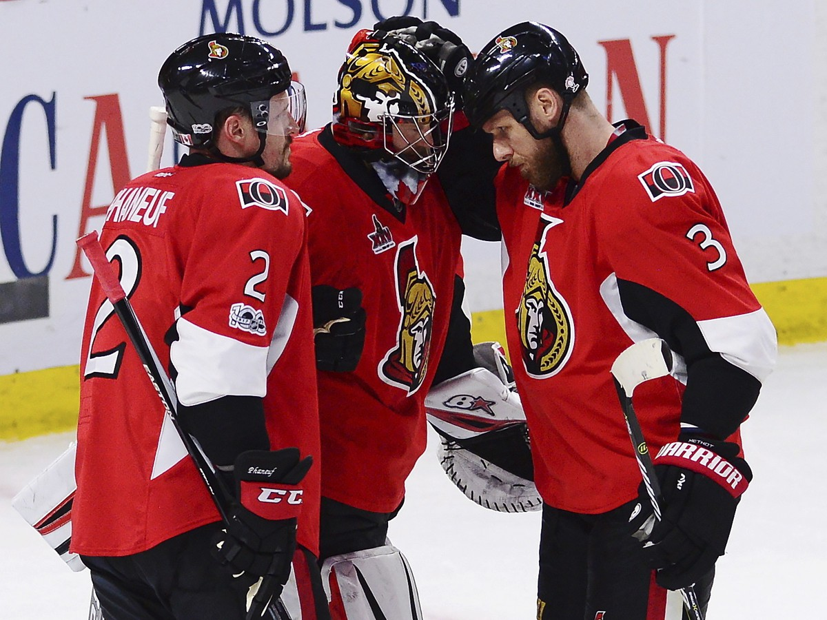 Hokejisti Ottawy Senators sa
