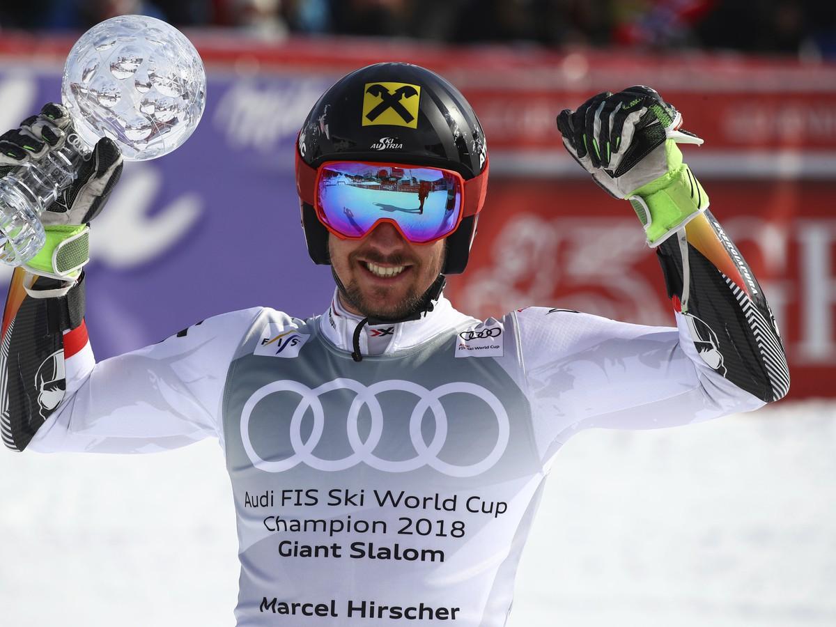 Rakúsky slalomár Marcel Hirscher