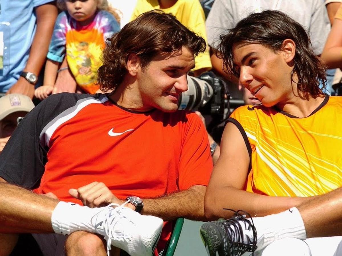 Federer a Nadal na