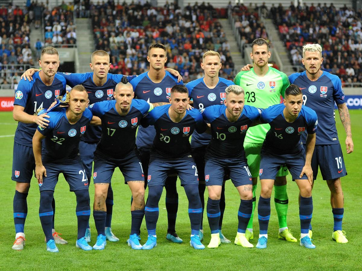 Slovenské národné futbalové mužstvo