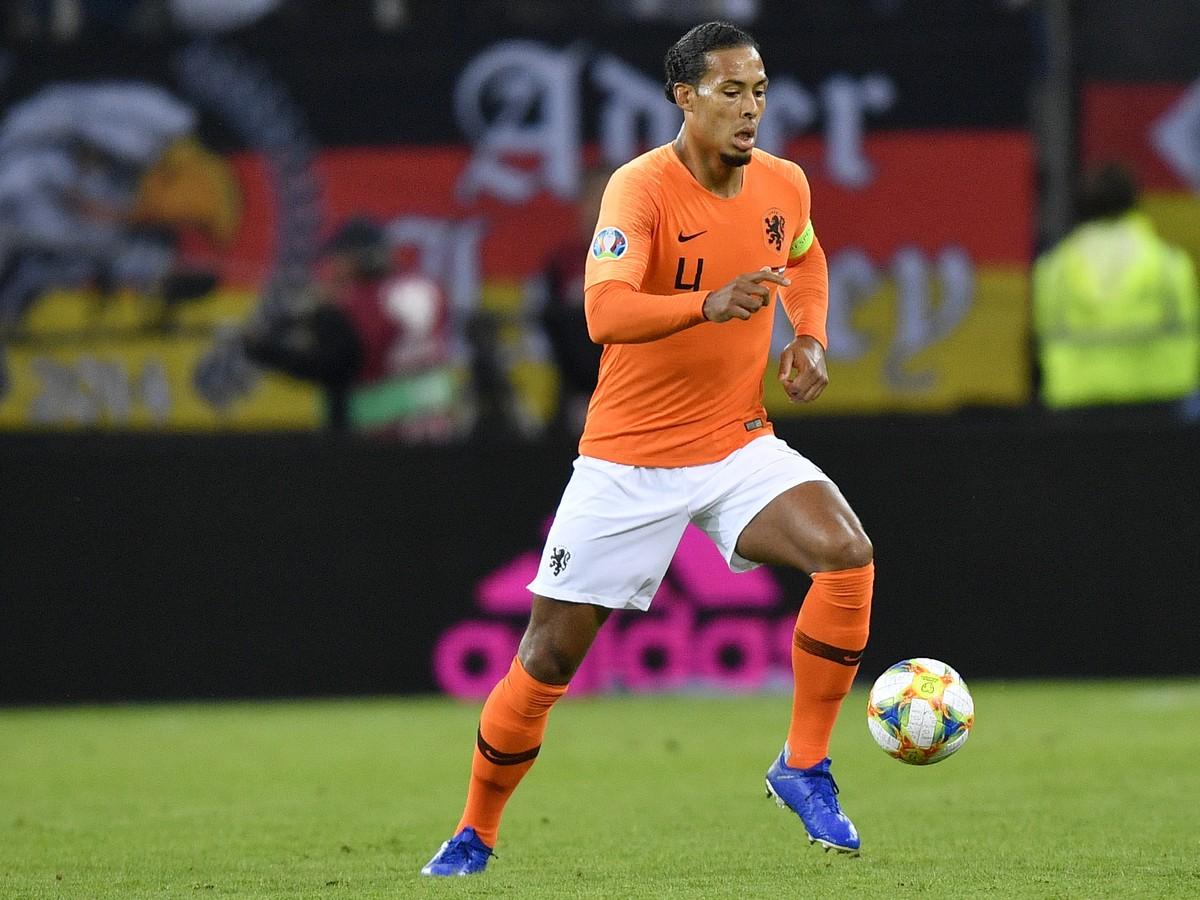 Kapitán Holandska Virgil Van